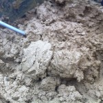 the clay mixture