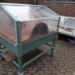 Joep's greenhouse oven