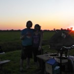 sunset cooking