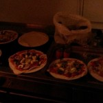 The pizzas!